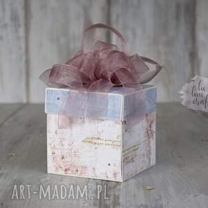 gustowne scrapbooking kartki życzenia personalizowane pudełko