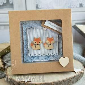 beżowe scrapbooking kartki na wesele piękna rustykalna kartka ślubna w