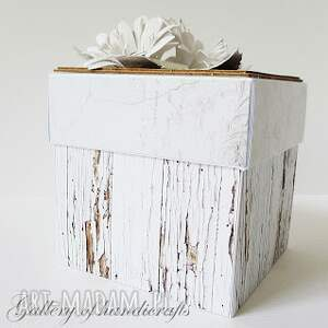 białe scrapbooking kartki komunia pierwsza - zamówienie pani