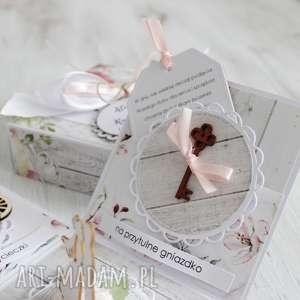 scrapbooking kartki pudełko na ślub - kartka