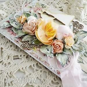 wyjątkowe scrapbooking kartki kartka ślubna w pudełku, 637