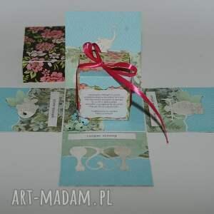 handmade scrapbooking kartki kartka pudełko box na 18 urodziny