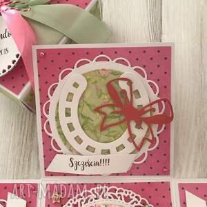 scrapbooking kartki urodziny pudełko eksplodujące - kartka na