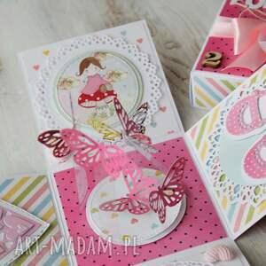 scrapbooking kartki kartka pudełko - na urodziny