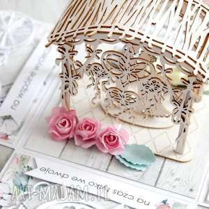 kartka-na-ślub scrapbooking kartki białe pudełko - kartka z życzeniami