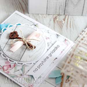 scrapbooking kartki prezent-na-ślub pudełko - kartka z życzeniami