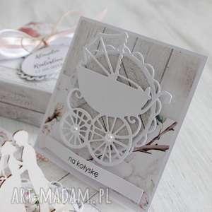 białe scrapbooking kartki kartka pudełko na ślub -