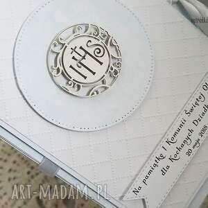 białe scrapbooking kartki pudełko na zdjęcia 10x15cm