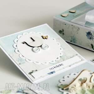 unikatowe scrapbooking kartki ślub pudełko - niespodzianka na