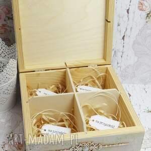 kolorowe scrapbooking kartki pudełko-na-ślub pudełko ślubne z przegródkami