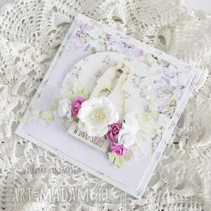 scrapbooking kartki w dniu ślubu, kartka pudełku, 609