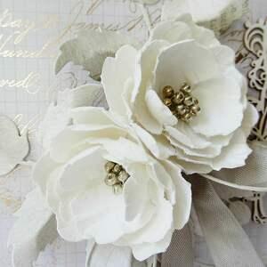 frapujące scrapbooking kartki rocznica ślubna elegancja