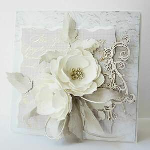 frapujące scrapbooking kartki ślub ślubna elegancja