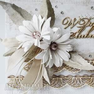 scrapbooking kartki ślub ślubna elegancja - w pudełku