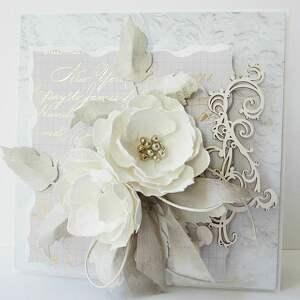 rocznica scrapbooking kartki ślubna elegancja