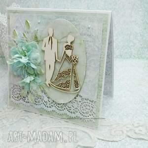 efektowne scrapbooking kartki kartka ślubna z pudełkiem