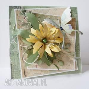 beżowe scrapbooking kartki rocznica ślubna kartka w pudełku