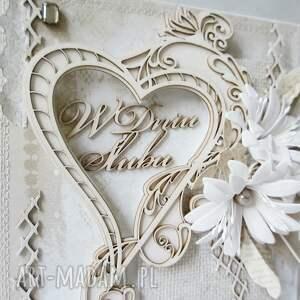 oryginalne scrapbooking kartki rocznica ślubna kartka w pudełku