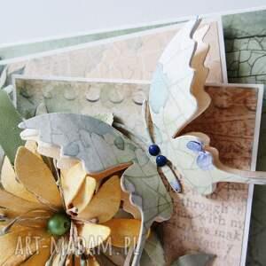 scrapbooking kartki życzenia ślubna kartka w pudełku