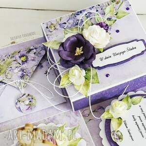 scrapbooking kartki ślub ślubny exploding box z młodą parą