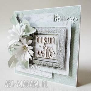 scrapbooking kartki ślub ślubny szyk - w pudełku