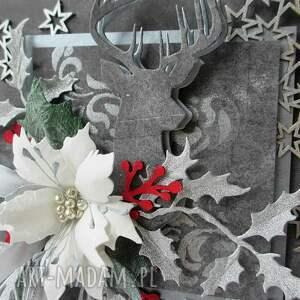 pomysł na prezenty świąteczne srebrne święta