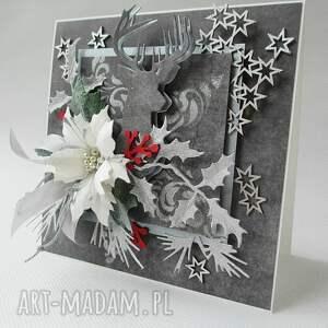 pomysł na prezenty świąteczne szare srebrne święta