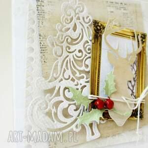 pomysł na upominki święta białe świąteczna - w pudełku