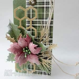 prezenty pod choinkę zielone świąteczne życzenia