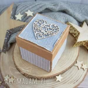 niepowtarzalne scrapbooking kartki na chrzest urocze eksplodujące pudełeczko
