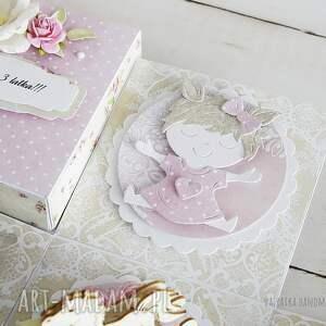 scrapbooking kartki urodziny-dziecka urodzinowy exploding box