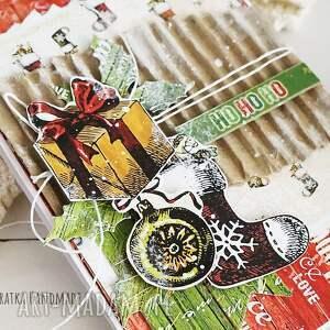 pomysł na upominek święta kartka świąteczna, 510