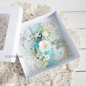 hand made scrapbooking kartki w dniu ślubu. Kartka pudełku, 659