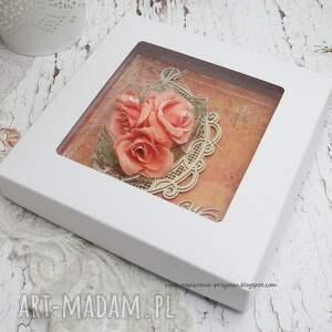 scrapbooking kartki ślub w dniu ślubu - pudełku