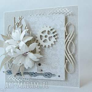 wyjątkowe scrapbooking kartki ślub w dniu ślubu - pudełku