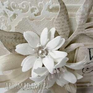 unikatowe scrapbooking kartki życzenia w dniu ślubu