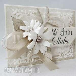 unikatowe scrapbooking kartki ślub w dniu ślubu