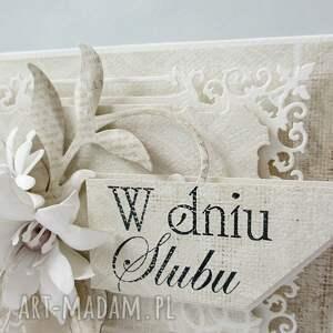 życzenia scrapbooking kartki w dniu ślubu