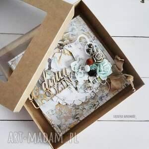 urodziny scrapbooking kartki brązowe w dniu urodzin, kartka pudełku