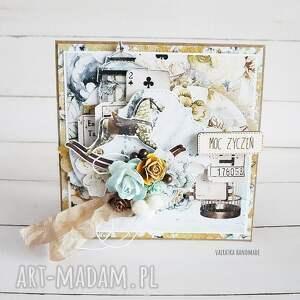 unikalne scrapbooking kartki urodziny w dniu urodzin, kartka pudełku