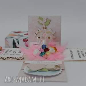 scrapbooking kartki kartka - pudełko jest ręcznie robione