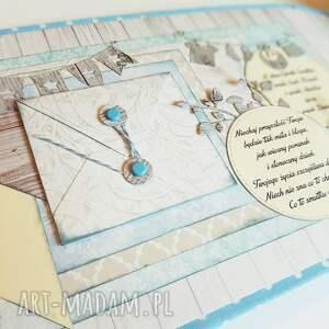 niepowtarzalne scrapbooking kartki chrzest wyjątkowa pamiątka chrztu/narodzin