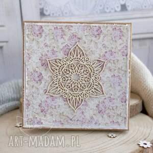 kolorowe scrapbooking kartki na ślub wyjątkowa pamiątka ślubna