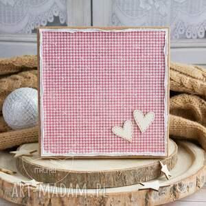 kartka ślubna scrapbooking kartki niebieskie wyjątkowa warstwowa