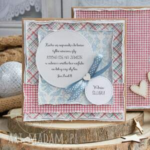 czerwone scrapbooking kartki prezent ślubny wyjątkowa warstwowa kartka ślubna