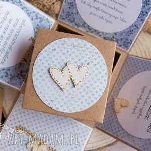 scrapbooking kartki box wyjątkowe pudełeczko ślubne dla