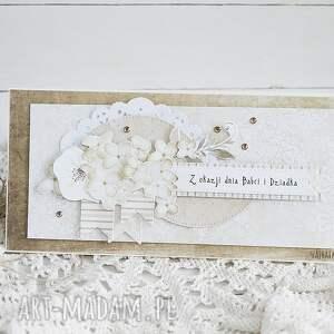 babcia scrapbooking kartki beżowe z okazji dnia babci i dziadka, 416