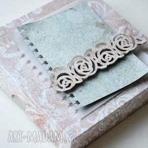 scrapbooking kartki mama z życzeniami - w ozdobnym pudełku