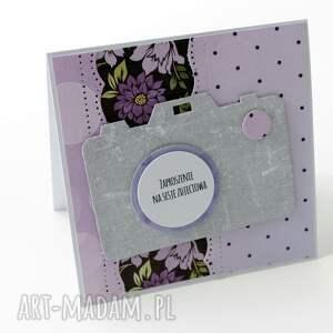 scrapbooking kartki prezent zaproszenia na sesję foto