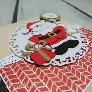 pomysły na święta prezenty mikołajki zaproszenie / karta santa claus is